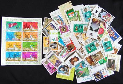 Pěkná sbírka známek Severní Korea (DPR)