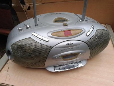 Přenosné audio -RÁDIO HRAJE, CD také - viz foto