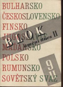 Blok - časopis pro umění, roč. II., číslo 9/1948. Um
