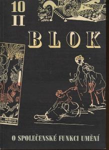 Blok - časopis pro umění, roč. II., číslo 10/1948. O