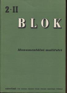 Blok - časopis pro umění, roč. II., číslo 2/1947. Mon