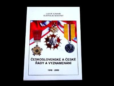 Československo Vyznamenání 1948-2000 Katalog  Novotný  , ČSR ,řády