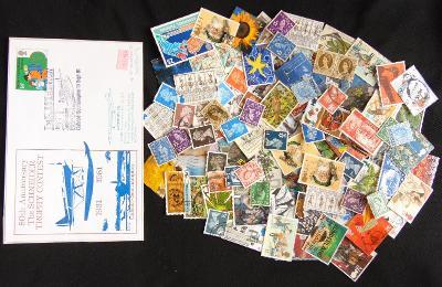 Pěkná sbírka známek Velká Británie/Spojené království + FDC (1)