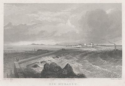 Murazzo Veneto, Weidmann, oceloryt, 1840