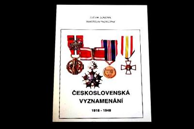 Československo Vyznamenání 1918-1947 Katalog Novotný , ČSR ,řády