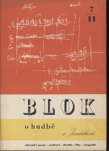 Blok - časopis pro umění, roč. II., číslo 7/1948. O h