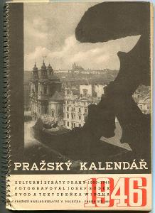 Pražský kalendář 1946. Kulturní ztráty Prahy 1939 - 194