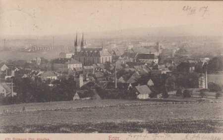 Cheb (Eger), celkový pohled na město