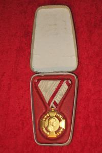 RU Medaile FJI Jubilejní kříž - Originál + ETUE RRR - TOP vyznamenání