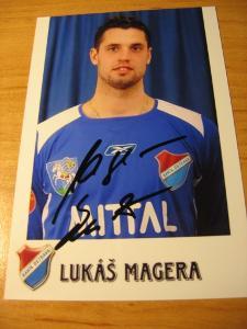 Lukáš Magera - Baník Ostrava - orig. autogram