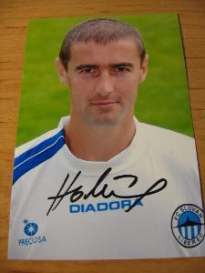 Miroslav Holeňák - Liberec - orig. autogram