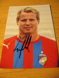 David Limberský - V. Plzeň - orig. autogram