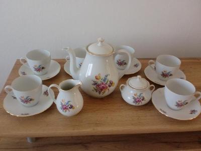 Čajový porcelánový servis