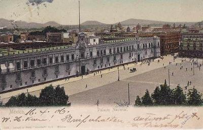MEXICO - MEXICO CITY - PALACIO NACIONAL  - 13-EX64