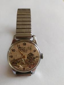 Pánské náramkové hodinky Poběda