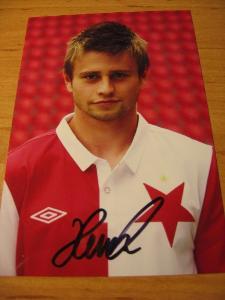 Martin Hurka - Slavia Praha - orig. autogram