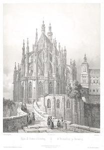 Kutná Hora, Chapuy, litografie, 1850