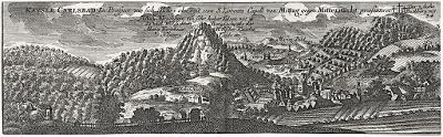 Karlovy Vary, Seutter, mědiryt, (1730)