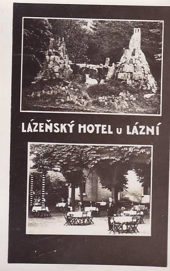 LÁZEŇSKÝ HOTEL U  LÁZNÍ - OKÉNKOVÁ - FOTO -12-QQ91