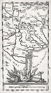 Baeck Ellias, Veneto, mědiryt, (1710)