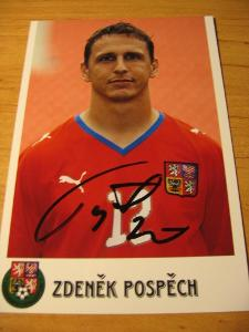 Zdeněk Pospěch - ČR - orig. autogram