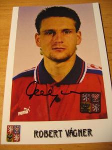 Robert Vágner - ČR - orig. autogram