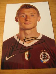 Jakub Brabec - Sparta Praha - orig. autogram