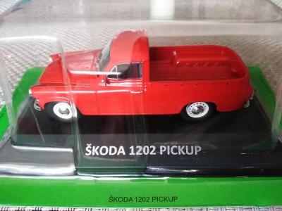 Model Škoda 1202 pickup