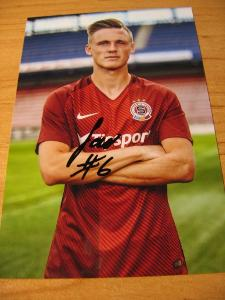 Martin Graiciar - Sparta Praha - orig. autogram