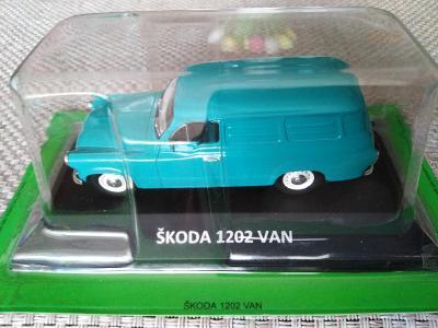 Model Škoda 1202 VAN