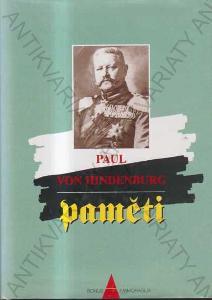 Paměti Paul von Hindenburg 1997 Bonus A, Brno