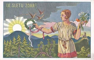 PRAHA - SOKOLSKÝ SLET 1932 - 26-BW68