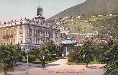 ŠVÝCARSKO - LOCARNO - PARK - GIARDINI - 26-BW96