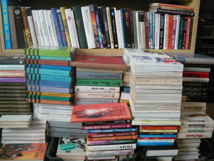 CELÁ KNIHOVNA,velké množství knih-jen osobní převzetí!!!! - Knihy