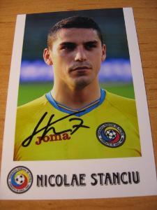 Nikolae Stanciu - Rumunsko / Slavia Praha / - orig. autogram