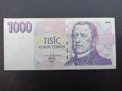� 1000 korun, 1993 - první serie A - I.vydání - výborný stav UNC1