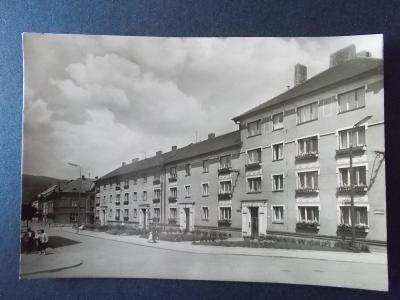Ústí nad Orlicí Česká Třebová Jeremenkova ulice nové byty architektura