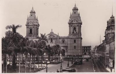 PERU - LIMA - KATEDRÁLA - 3-TW100