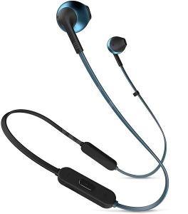 Nefunkční a pouze pro podnikatele: Sluchátka JBL T205 BT modrá