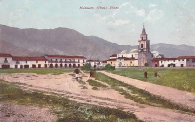PERU - HUANUCO - NÁMĚSTÍ - 7-TW38
