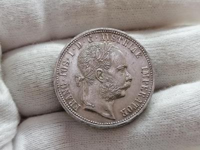 Zlatník František Josef I. 1873 - vzácný