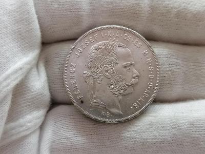 Zlatník František Josef I. 1879 KB