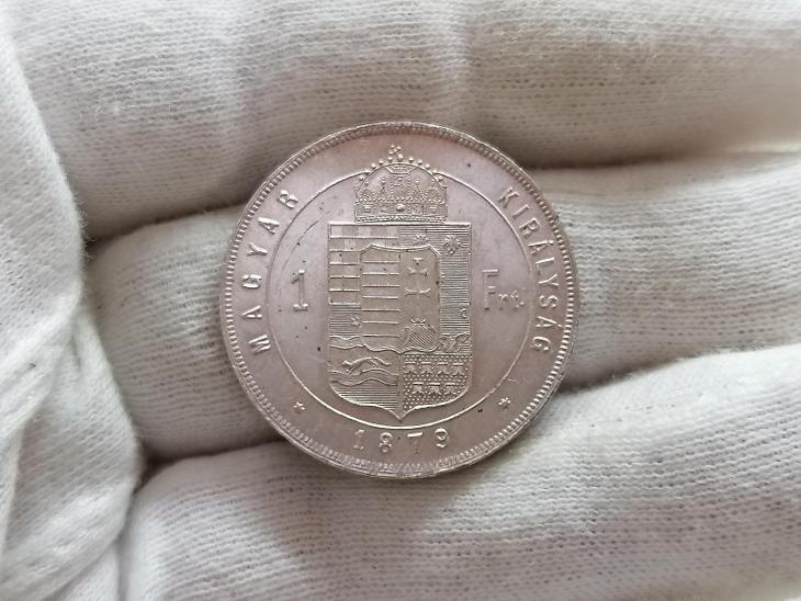Zlatník František Josef I. 1879 KB - Numismatika