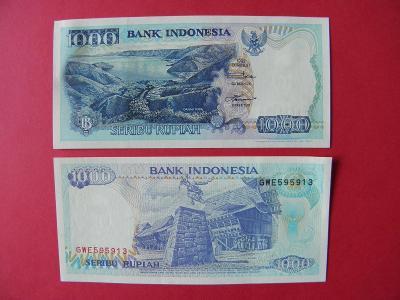 1.000 Rupiah 2000 Indonesia - P129i - UNC - /I171/