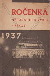 Ročenka Národního divadla v Praze 1937