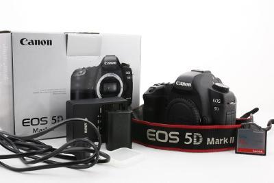 Zrcadlovka Canon 5D II 21Mpx Full-Frame