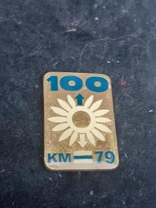 Odznak 100 jarních kilometrů 1979