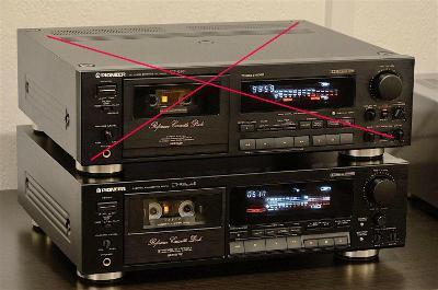 PIONEER XT-939MK2 TOP stereo cassette deck player/kazetovy magnetofon