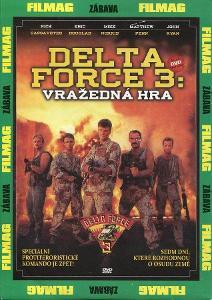 DELTA FORCE 3:VRAŽEDNÁ HRA (DVD) (PAPÍROVÝ OBAL)