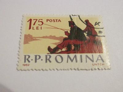 Známky Rumunsko 1962, Sportovní rybaření